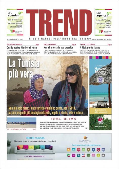 Trend | Il settimanale dell'Industria Turismo