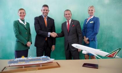 Costa e Alitalia viaggiano insieme