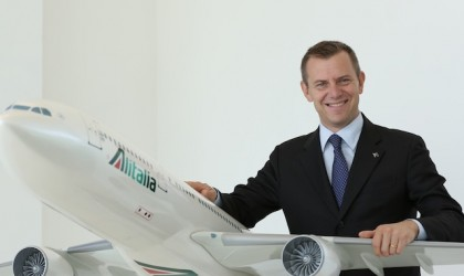Alitalia riscopre la Cina e gira l'Italia