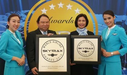 Due importanti premi per Bangkok Airways