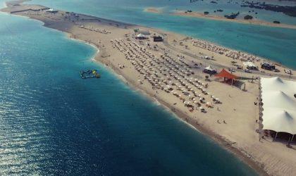 Abu Dhabi: apre la spiaggia per croceristi