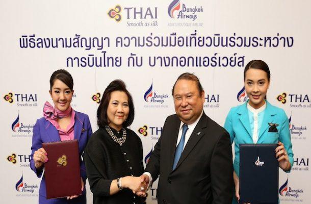 Bangkok Airways e Thai si alleano per il futuro