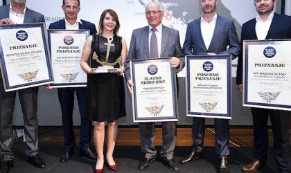 I migliori porti di Croazia premiati con l'Ancora d'Oro