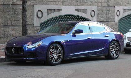 I Viaggi dell'Airone, una Maserati per gli sposi