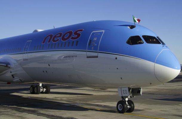 Neos saluta il suo primo 787 Deamliner