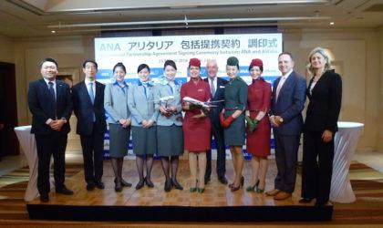 Alitalia si allea con All Nippon Airways