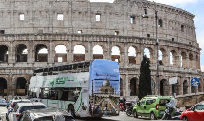 India, partita la campagna outdoor a Roma