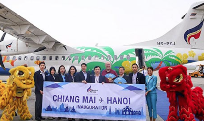 Bangkok Airways vola da Chiang Mai a Hanoi