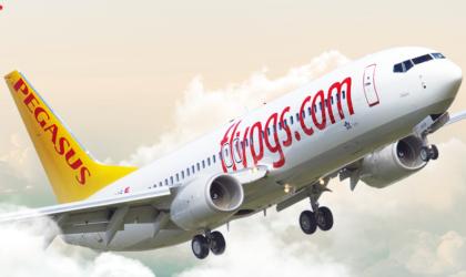 Alitalia: ufficiale il codeshare con vettore turco Pegasus Airlines