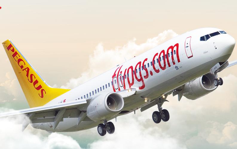 Un aereo di Pegasus Airlines