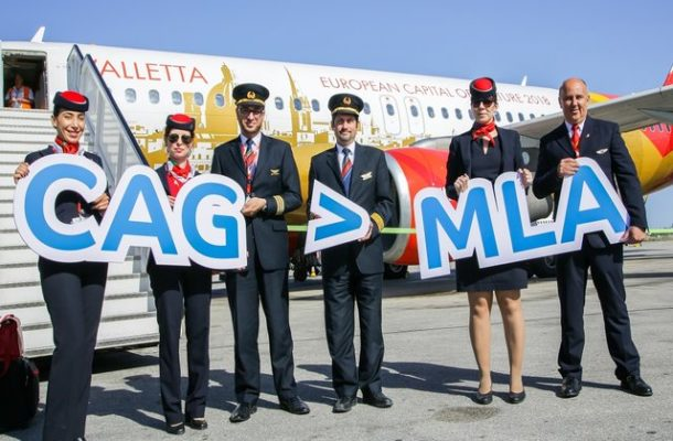 Air Malta a Londra da Cagliari e Catania