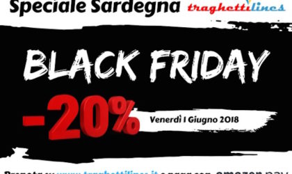 "Arriva il ""black friday"" di Traghettilines"