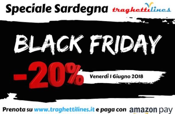 """Arriva il """"black friday"""" di Traghettilines"""