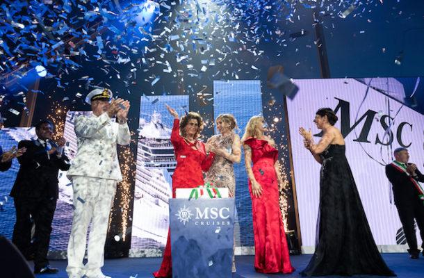 MSC, un vero show per lanciare Seaview