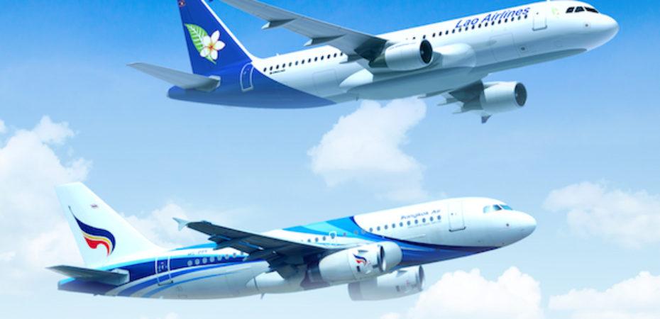 Bangkok Airways e Lao Airlines volano insieme