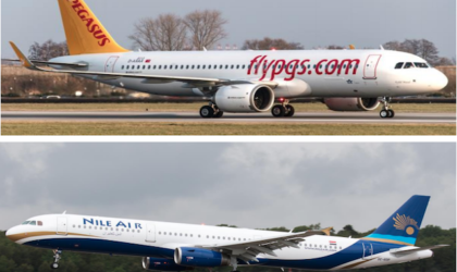 Pegasus Airlines firma codeshare con Nile Air
