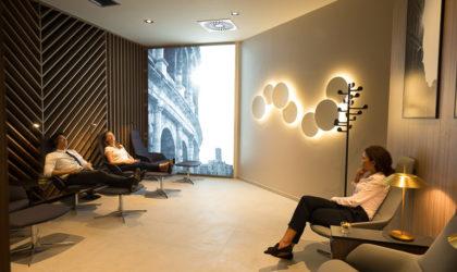 Nuova lounge Star Alliance a Fiumicino