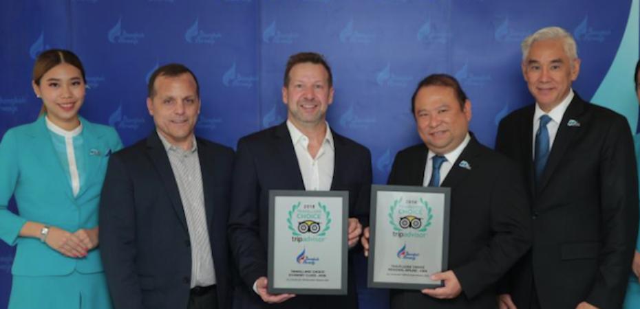 Due nuovi premi per Bangkok Airways