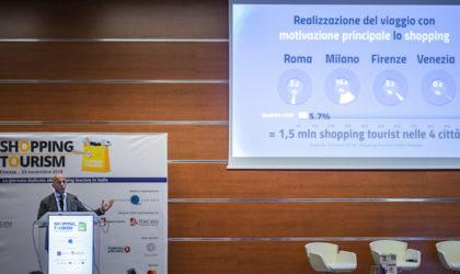 Shopping Tourism: 2,6 miliardi di euro di spesa