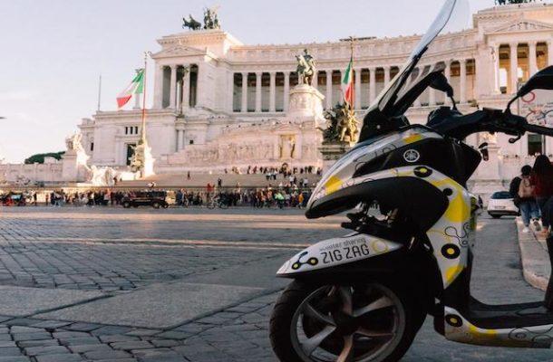 Zig Zag scooter sharing a prezzo ridotto con Trenitalia