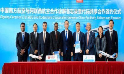Emirates sigla un accordo di codeshare con China Southern Airlines