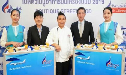 Nuovi menù street food sui voli Bangkok Airways
