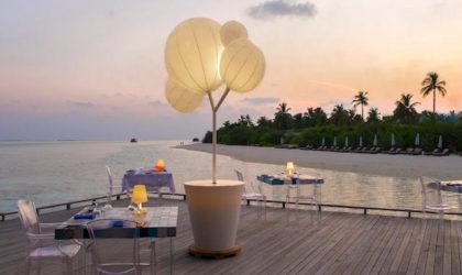 Gli arredi da Oscar accendono il Cocoon Maldive
