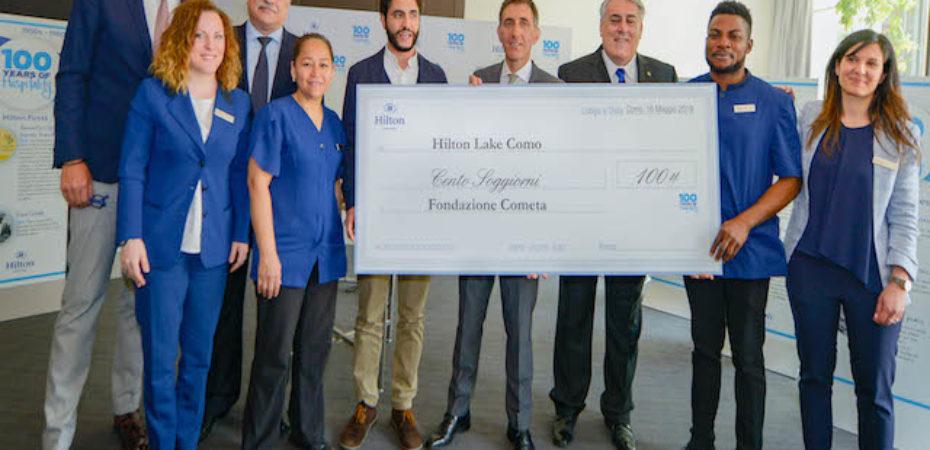 Hilton Lake Como festeggia i 100 anni della Compagnia