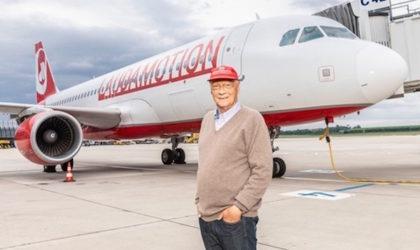 Addio a Niki Lauda, campione anche nel turismo