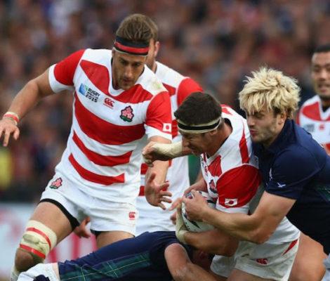 La Coppa del Mondo di rugby sbarca in Giappone