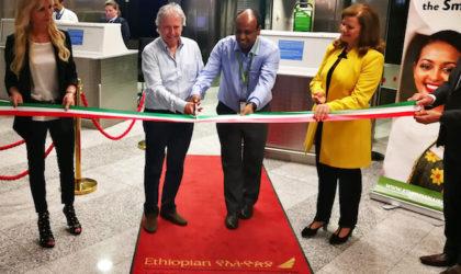 Ethiopian Airlines inaugura un nuovo volo diretto