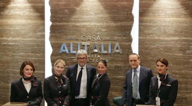 Inaugurata la nuova lounge Casa Alitalia a Linate