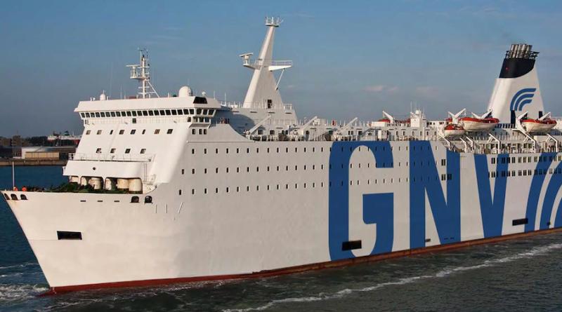 GNV: entra nella flotta il ferry GNV Aries